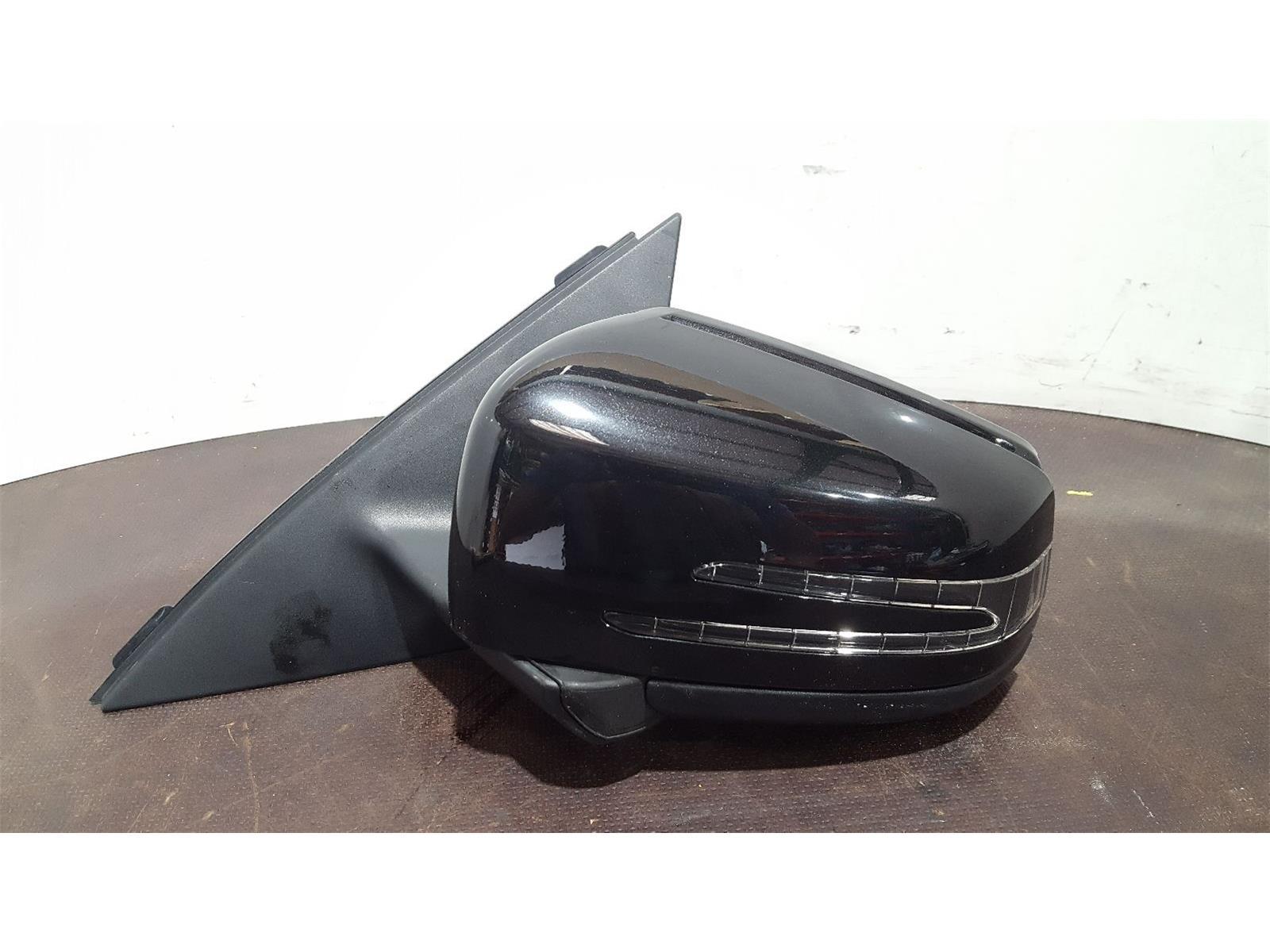 Mercedes-Benz C Class W204 2011 To 2015 Black Power Fold N/S Left Door Mirror