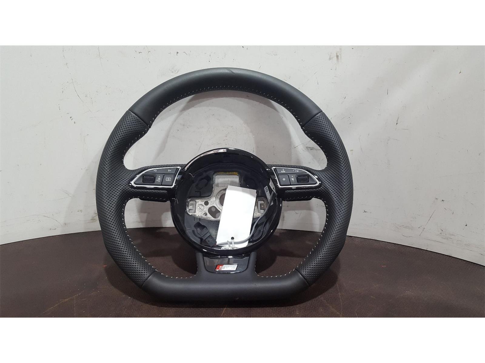 Audi A6 2014 On S Line Black Edition TFSi Steering Wheel