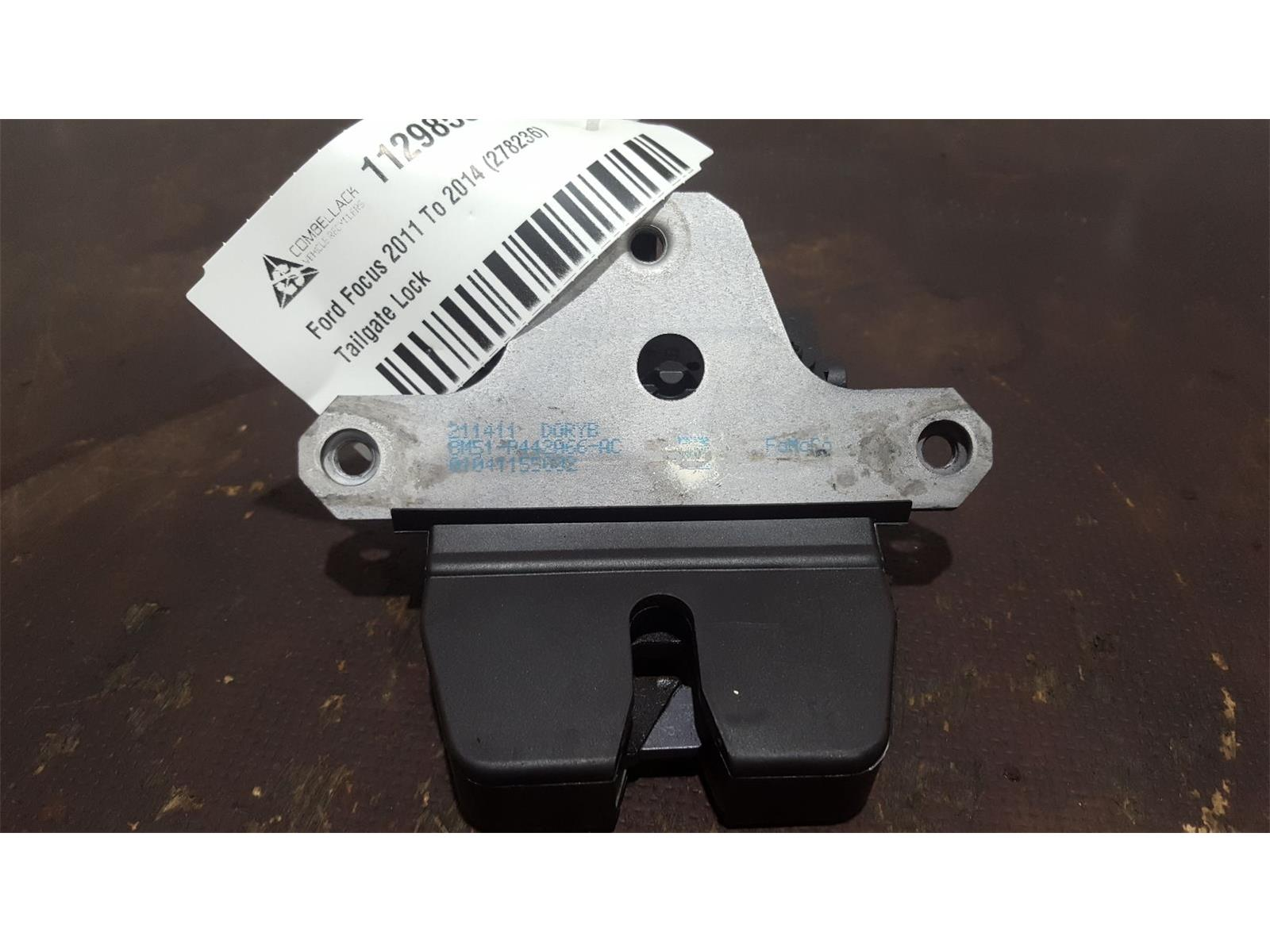 Ford Focus 2011 To 2014 5 Door Hatchback Tailgate Boot Catch Lock Latch 2011