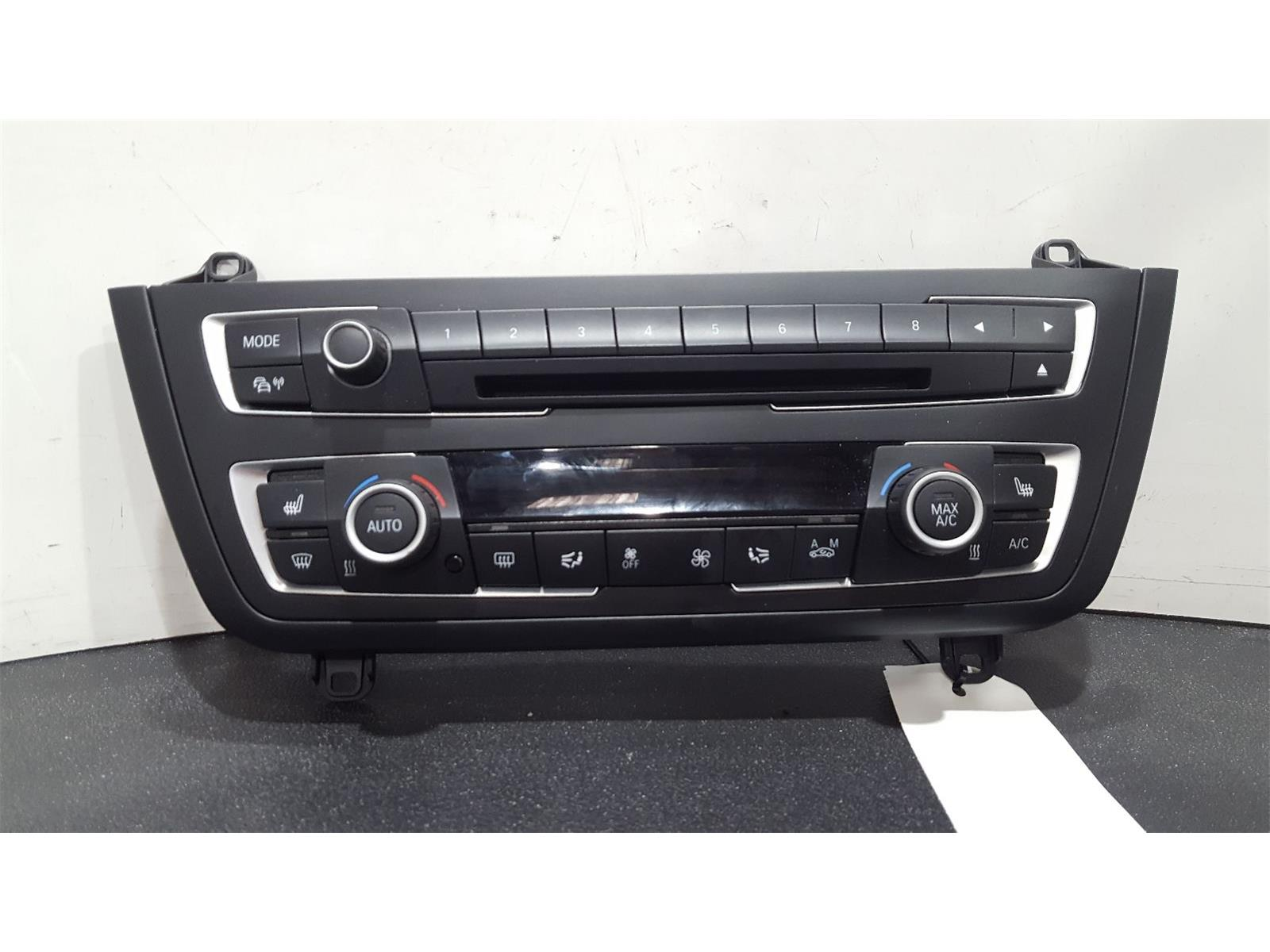 BMW 3 Series 2012 To 2015 Heater Controls 2014 9323554-02