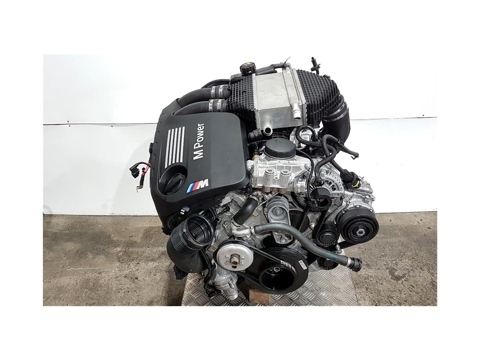 BMW M4 Competition 4 Series 2017 On 3.0 Petrol Engine S55B30T0 (S55B30A)