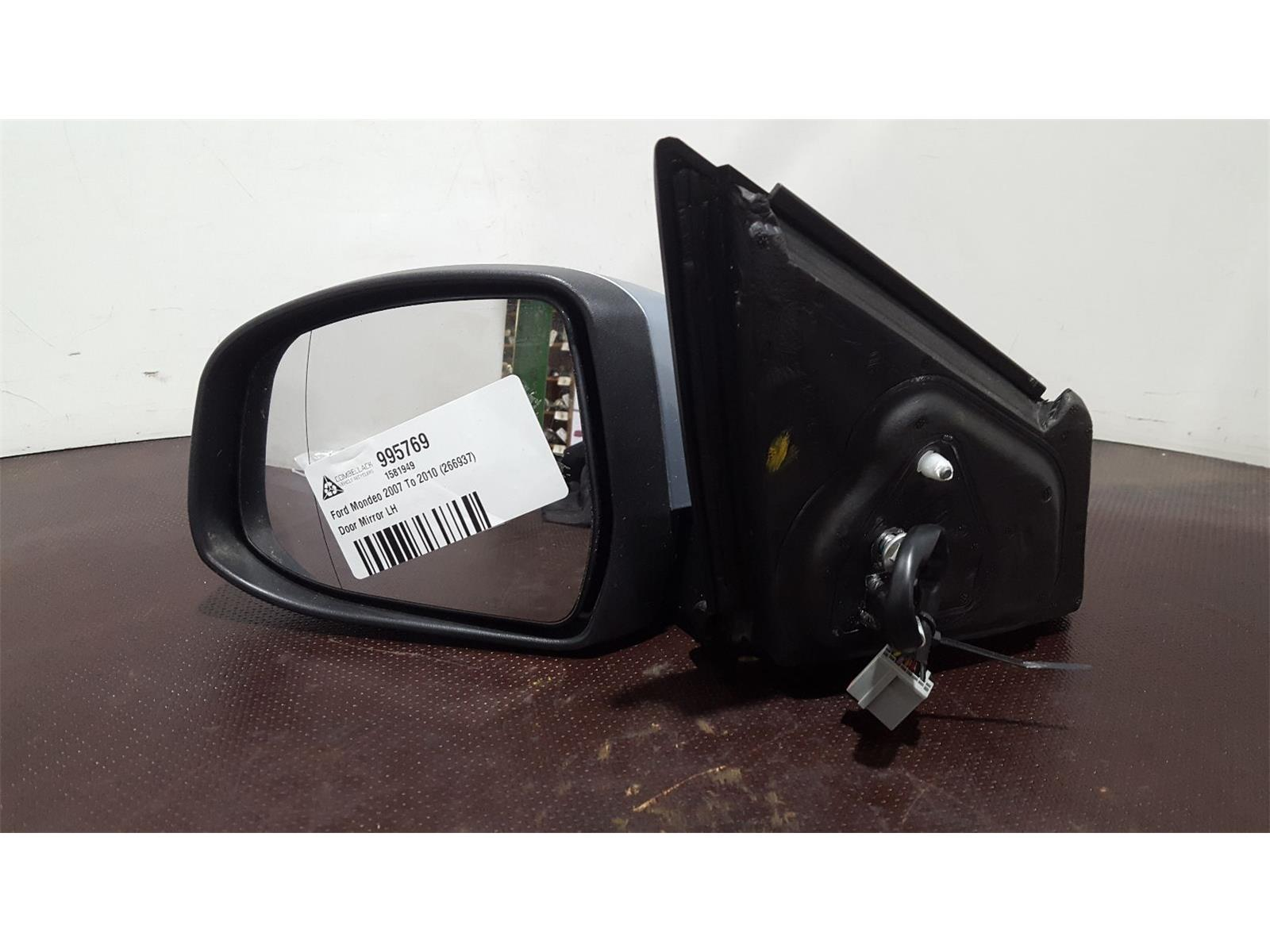 Ford Mondeo 2007 To 2010 Blue Power Folding N/S Left Passenger Door Mirror