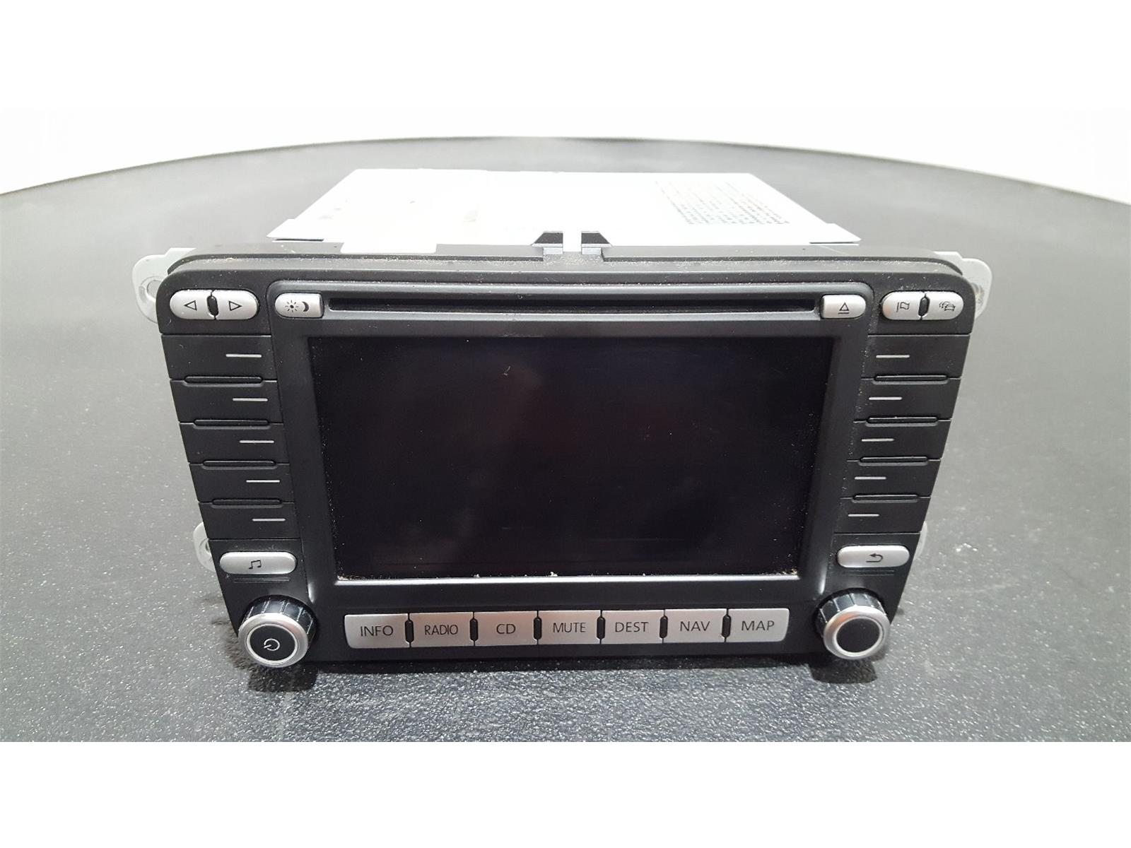Volkswagen Jetta 2006 To 2011 CD Player Stereo Headunit 1K0035198C