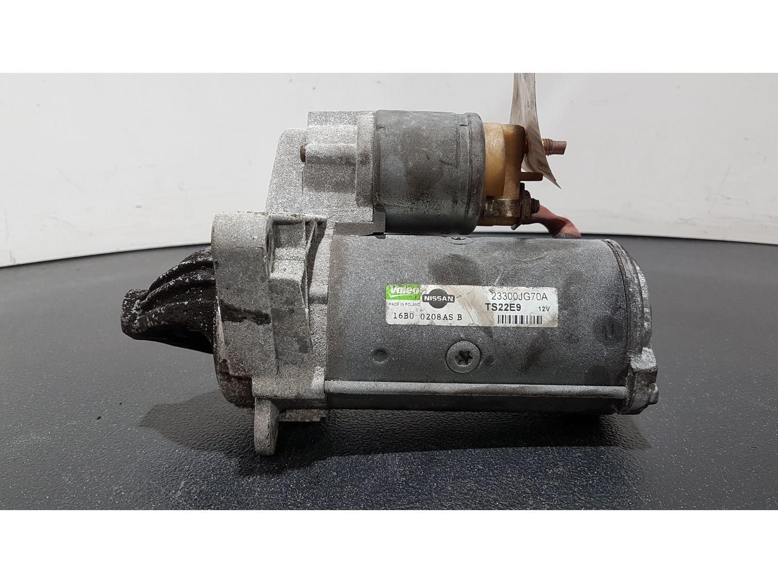 Nissan Qashqai 2010 To 2013 2.0 Diesel Starter Motor 23300JG70A