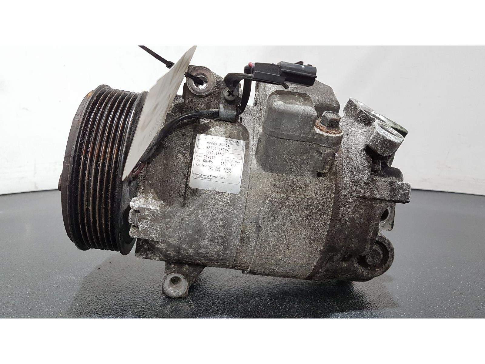 Nissan Qashqai 2010 To 2013 2.0 Air Conditioning Pump 92600BR70A