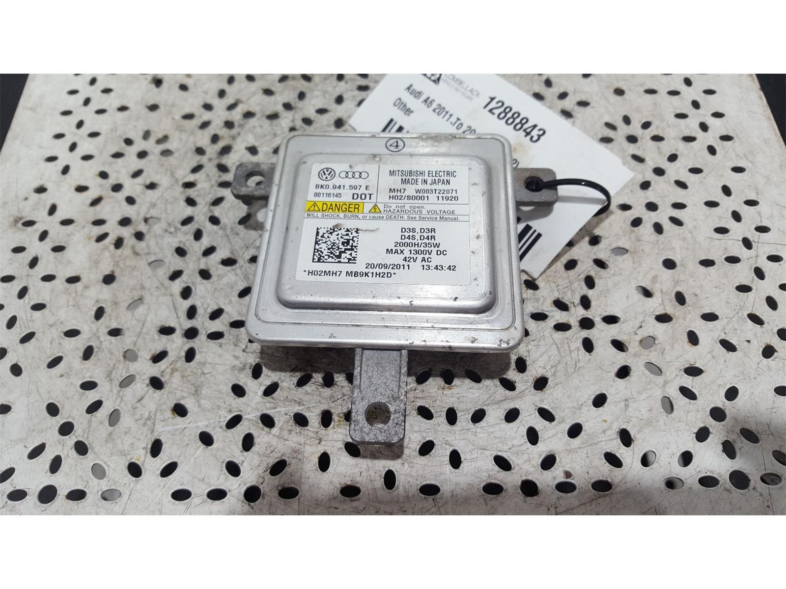 Audi A6 2011 To 2014 5 Door Estate Xenon headlight control ballast (8K0941597E)