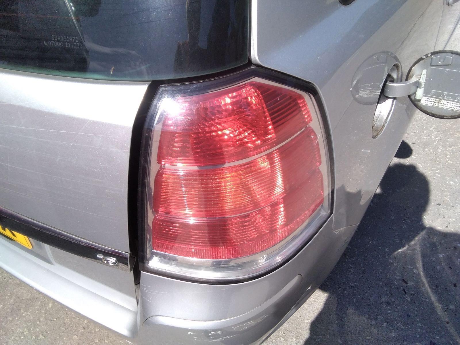 Vauxhall, Zafira 2005 To 2010, Active M.P.V., Petrol Manual Lamp Assembly Rear RH