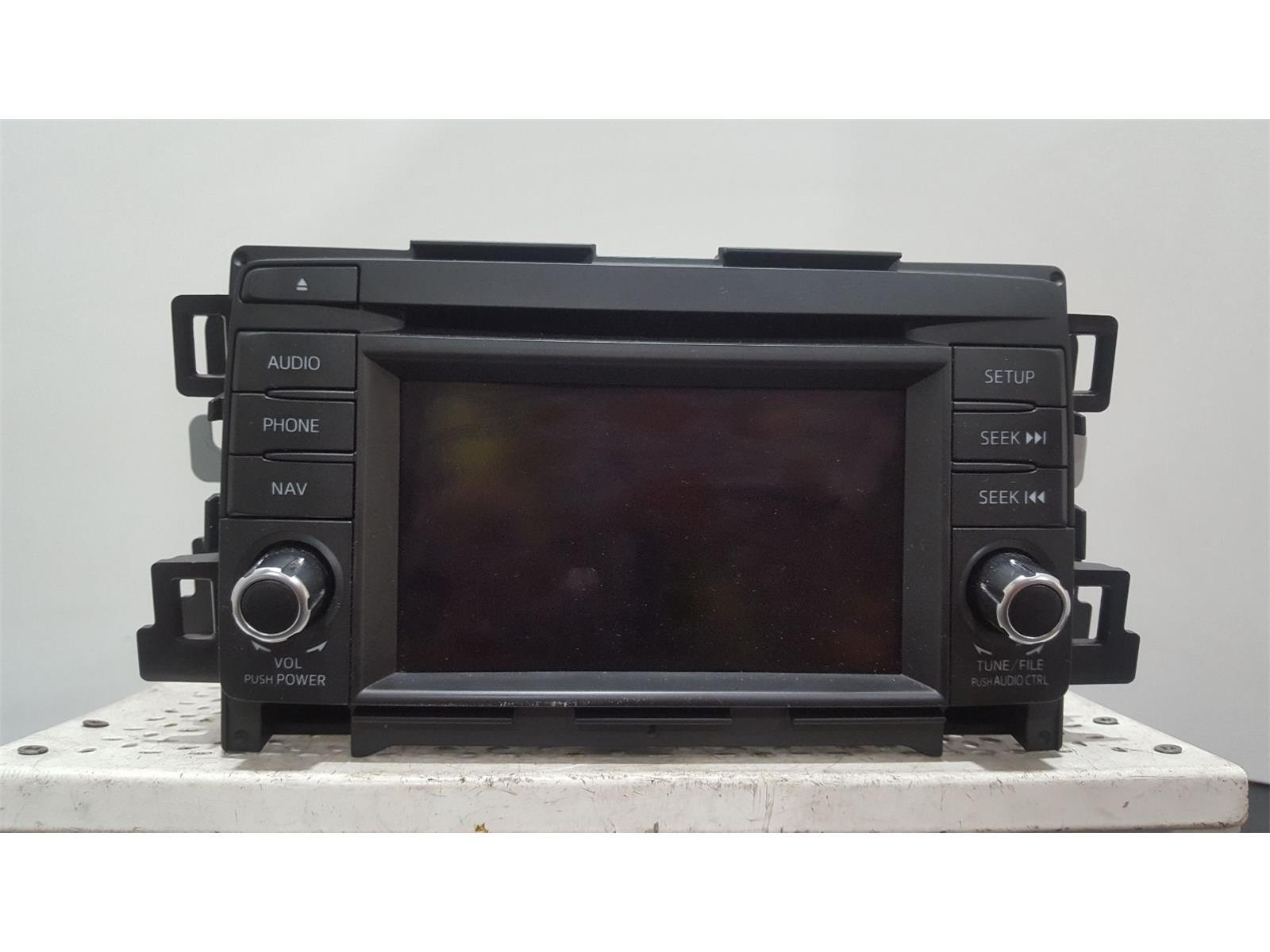 MAZDA CX-5 - MK1 (KE) 2012 TO 2016 - CD Player Stereo Headunit KD4766DV0B