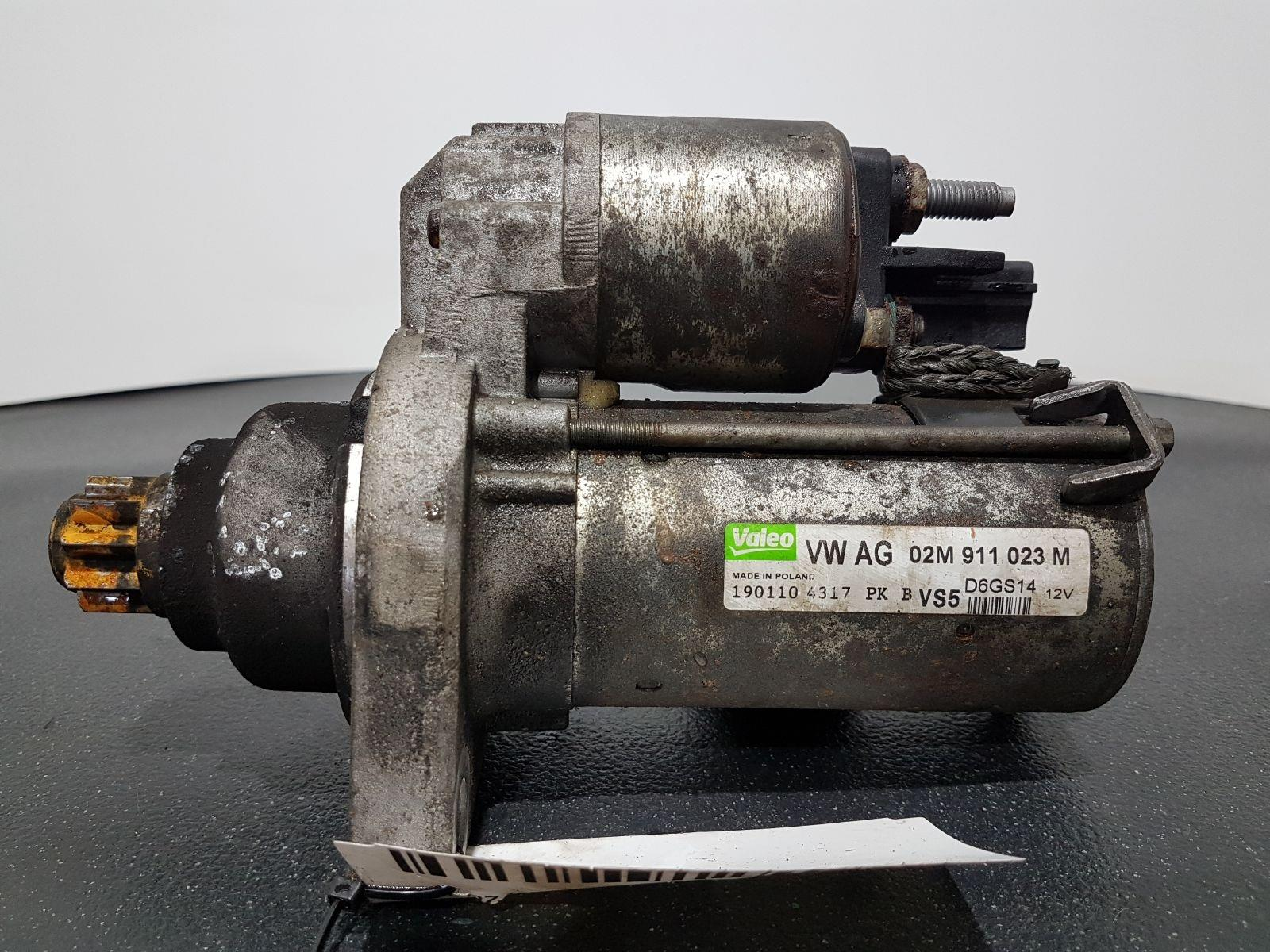 AUDI S3 TFSI S LINE MK2 FL (8P) (A5) 2003 - 2013 - 2.0 PETROL Starter Motor