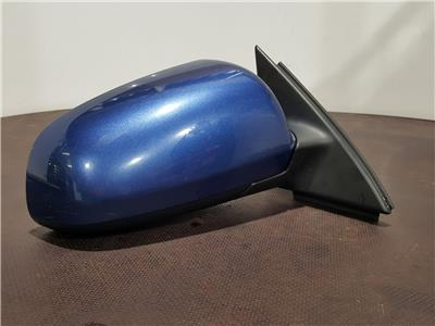 Audi A4 2005 To 2008 O/S Right Drivers Electric Door Mirror - Blue