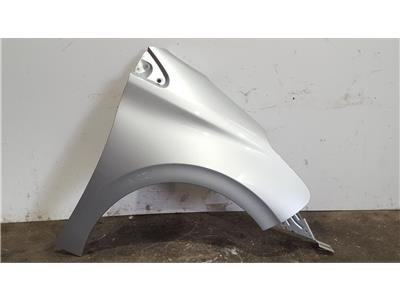 Peugeot 208 2012 To 2015 SILVER O/S Right Drivers Wing 9672971480