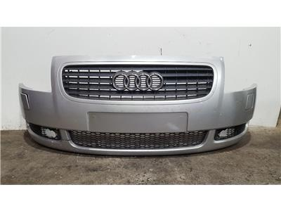 Audi TT MK1 1999 To 2006 Complete Front Bumper In SILVER *Damaged*