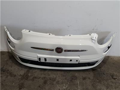 Fiat 500 Pop 2008 To 2015 Complete Front Bumper In WHITE