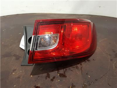 Renault Clio 2013 To 2016 O/S Right Drivers Rear Light 265502631R 5 Door Hatch