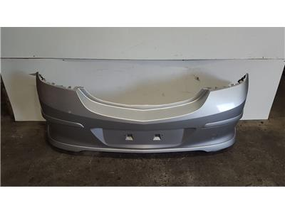 Vauxhall Astra H SRi 2005 To 2011 Silver X-Pack Rear Bumper 3 Door Hatchback