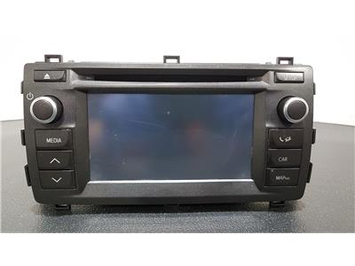 Toyota Auris Hybrid 2012 To 2015 CD Player Stereo Headunit 10R-038055