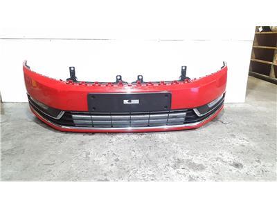 Volkswagen Passat 2011 To 2014 Complete Front Bumper In RED