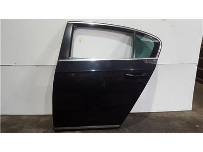 Volkswagen Passat 2011 To 2014 N/S Passengers LH Door Rear In BLACK