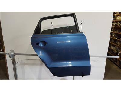 Volkswagen Polo 2014 On BLUE O/S Right Rear Door 2015