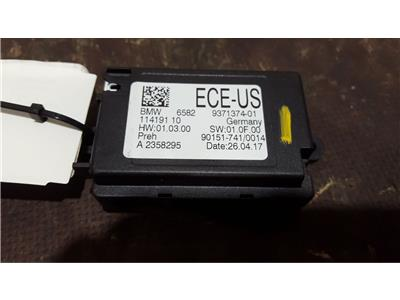 BMW X6 2017 F86 ECE-US Control Unit Controller Touch Screen Module