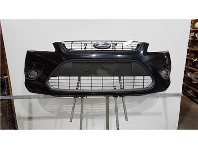 Ford Focus 2008 To 2010 Zetec Complete Front Bumper In BLACK