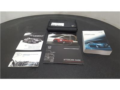 Mazda 6 2013 On 6 Owners Manual Book Pack