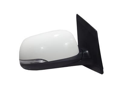 Kia Picanto 2014  O/S Right Drivers Door Mirror 5 Door Hatch White - Power Fold