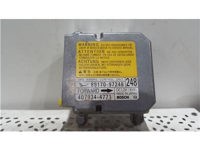 Daihatsu Copen 2003 To 2007 Airbag Control Unit ECU 89170-97248