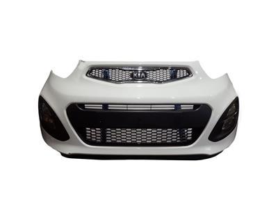 Kia Picanto 2011 To 2015 2 EcoDynamics Complete Front Bumper In WHITE