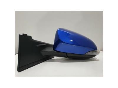 Toyota Yaris VVT-I ICON TECH MK3 FL2 (NHP130) - Passenger Left Door Mirror BLUE