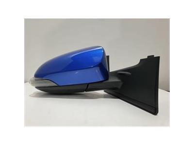 Toyota Yaris MK3 FL2 (NHP130) VVT-I ICON TECH - Drivers Right Door Mirror BLUE