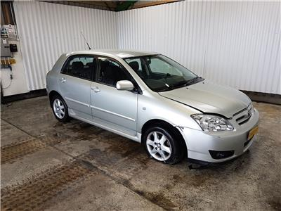 Toyota Corolla 2002 To 2009 Colour Collection VVT-i 5 Door Hatchback