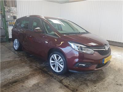 2017 Vauxhall Zafira Tourer 2016 On SRi Turbo M.P.V.