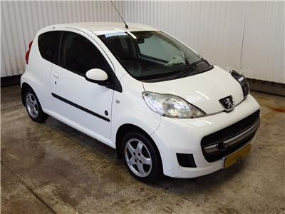 2011 Peugeot 107 2009 To 2011 Envy 3 Door Hatchback
