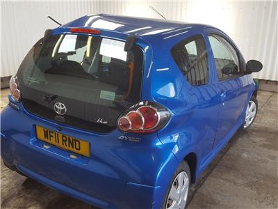2011 Toyota Aygo 2005 To 2012 Blue 3 Door Hatchback