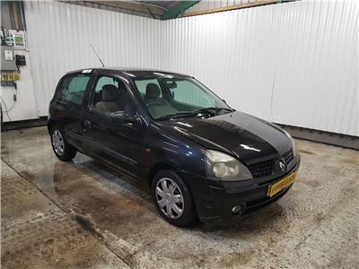 2002 Renault Clio 2001 To 2007 Authentique 3 Door Hatchback