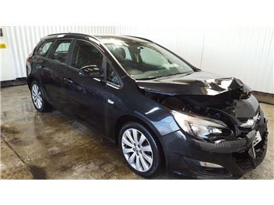 2013 Vauxhall Astra 2010 To 2015 Exclusiv 5 Door Estate