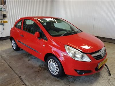 2007 Vauxhall Corsa 2007 To 2011 Life A/C 3 Door Hatchback