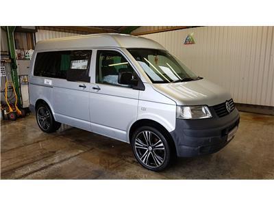 2008 Volkswagen Transporter 2003 To 2010 T30 Window Van SWB Van L/Side