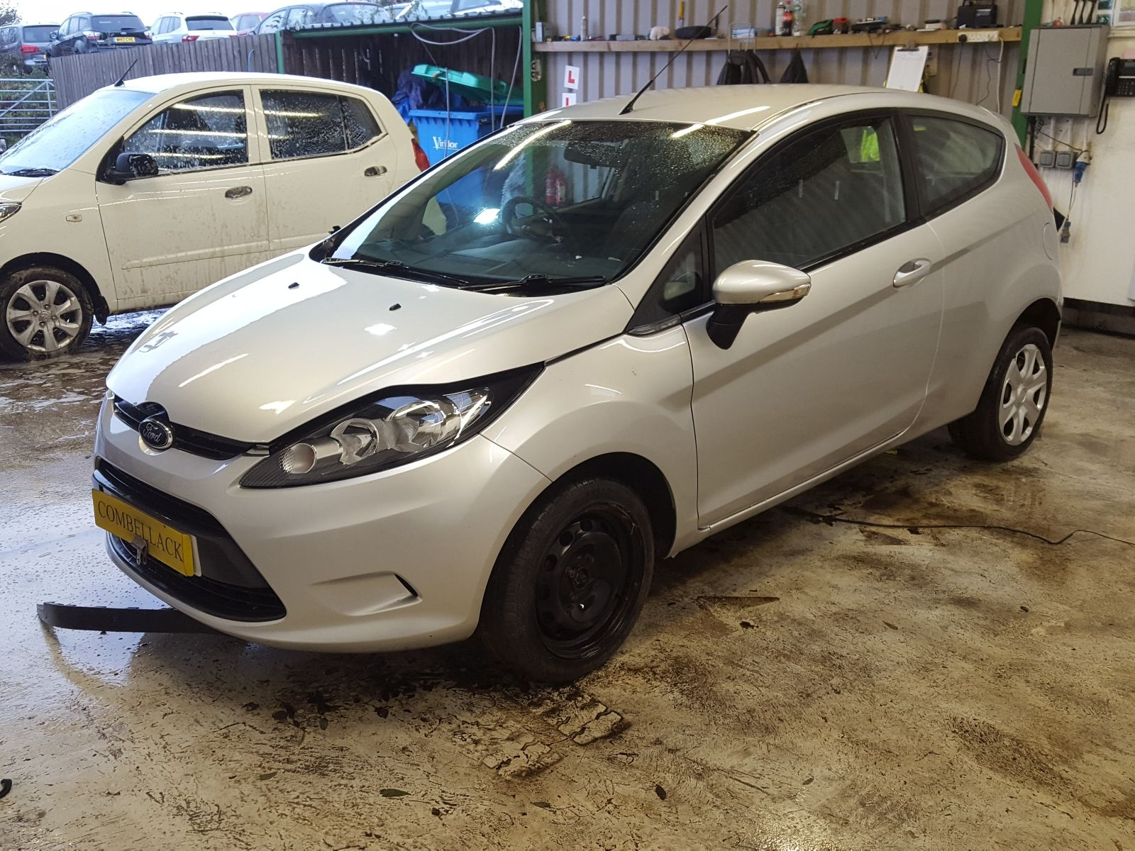 Ford Fiesta 2013 To 2017 Style Starter Motor Used And Spare Parts At Car Combellack Vehicle Recyclers