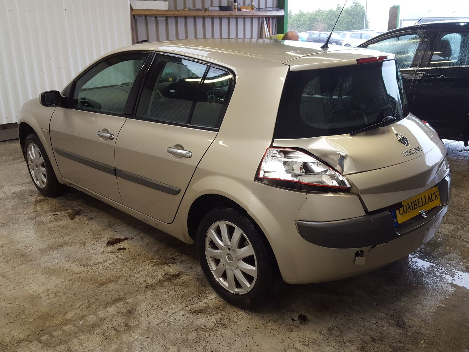 Renault Megane 2006 Black