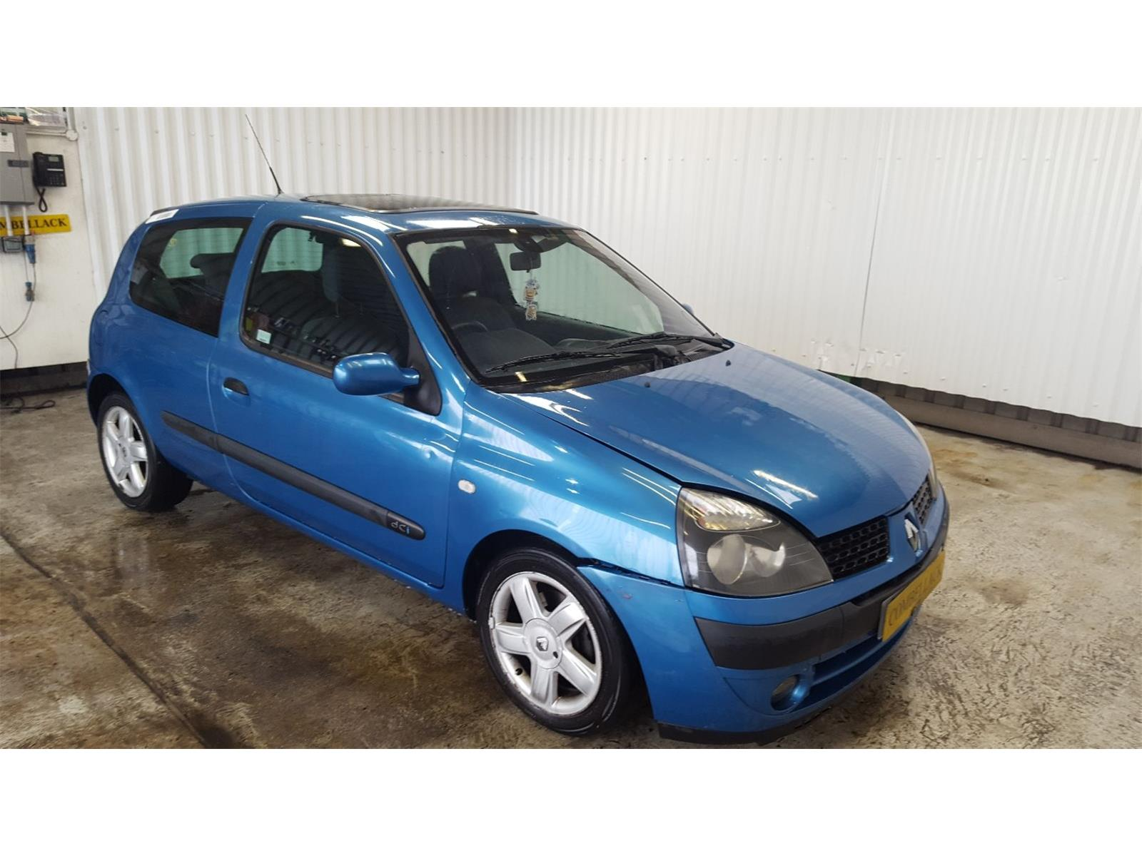 Renault Clio 2001 To 2007 Dynamique 3 Door Hatchback