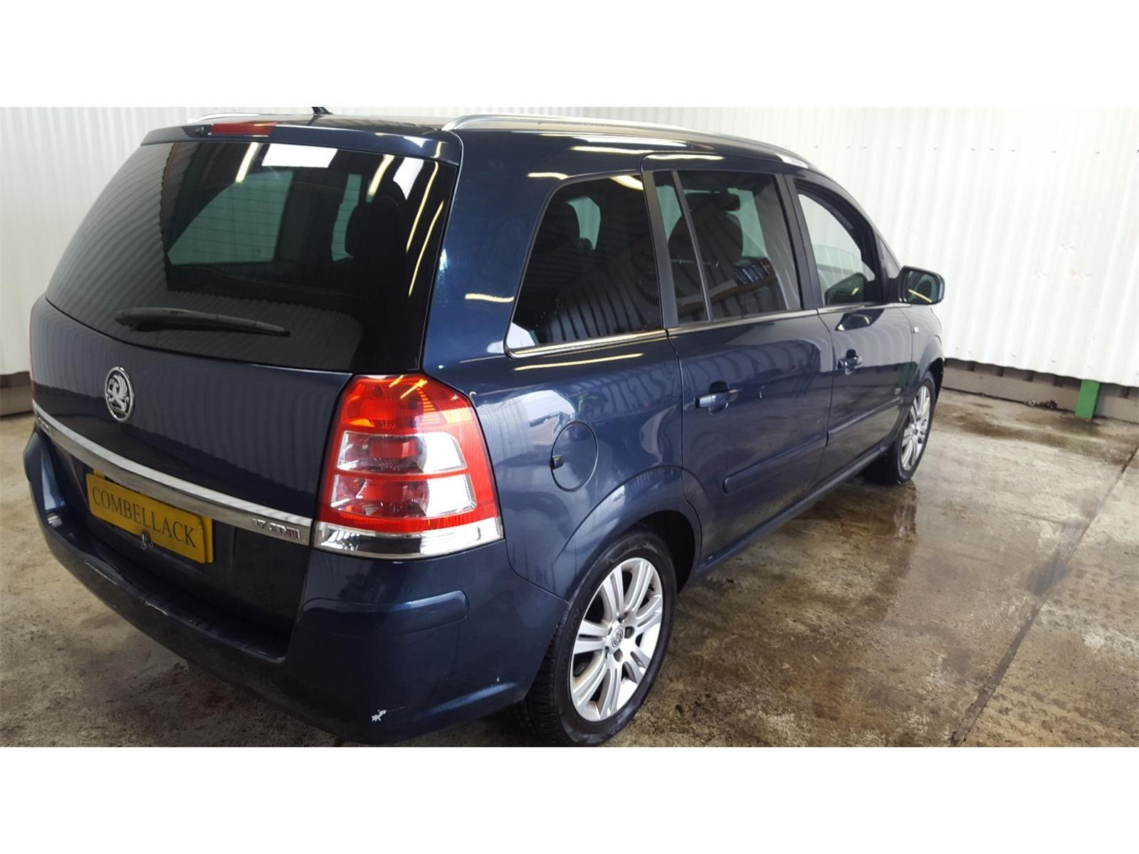 Vauxhall Zafira 2005 To 2010 Design Cdti Tailgate Lock Used And Boot Spare Parts At Combellack Vehicle Recyclers