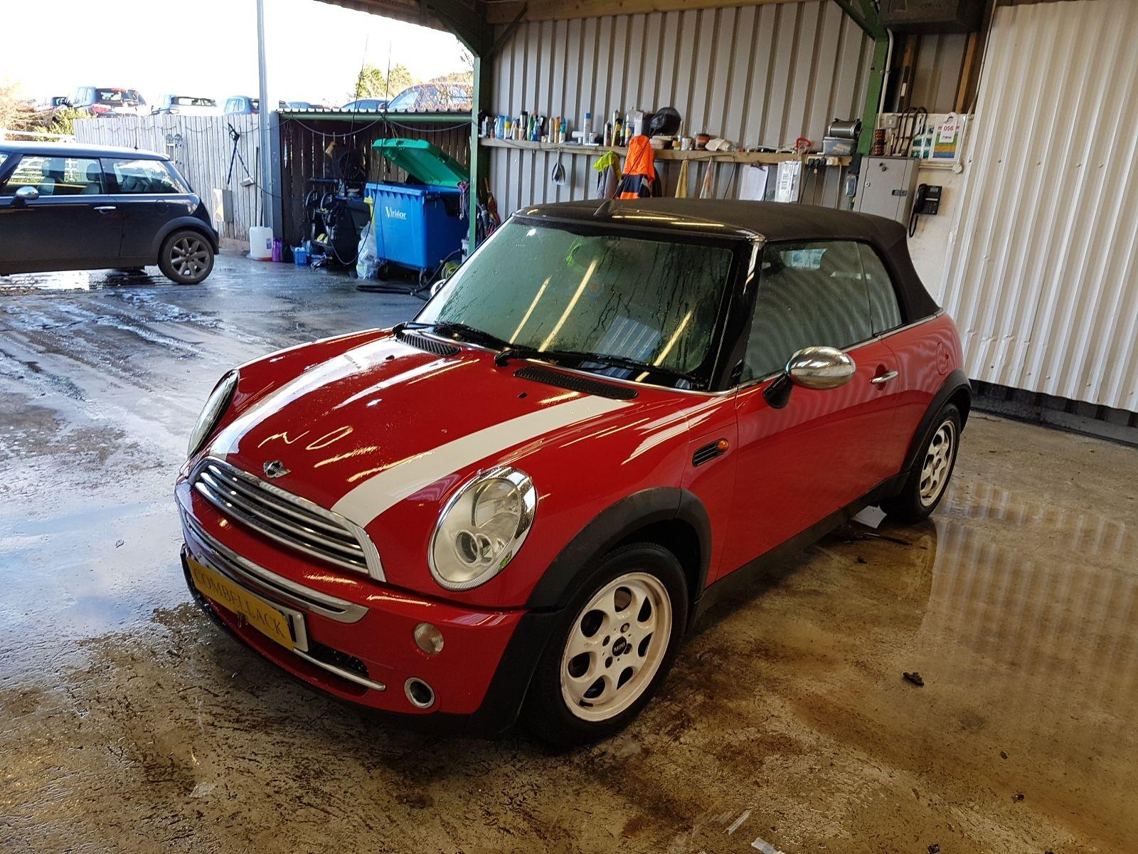 MINI Convertible 2004 To 2008 One 2 Door Cabriolet