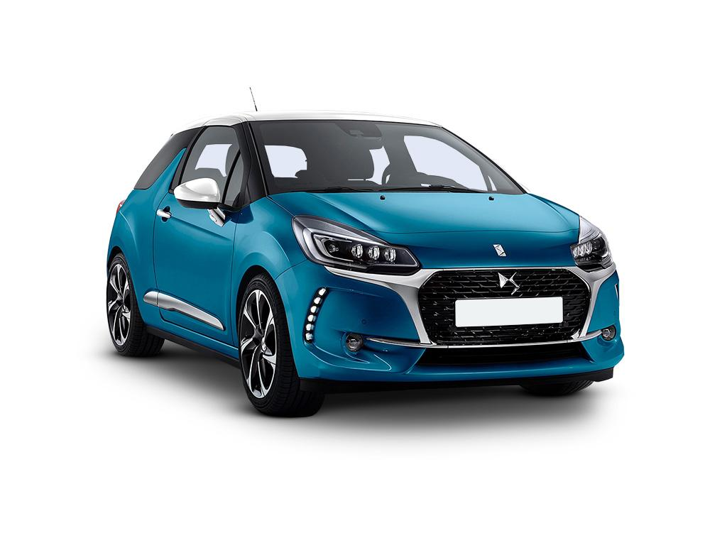 ds ds 3 hatchback 1 2 puretech 82 chic concept vehicle leasing. Black Bedroom Furniture Sets. Home Design Ideas