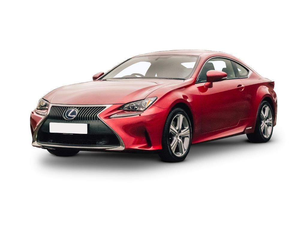lexus rc coupe 300h 2 5 f sport 2dr cvt concept vehicle leasing. Black Bedroom Furniture Sets. Home Design Ideas