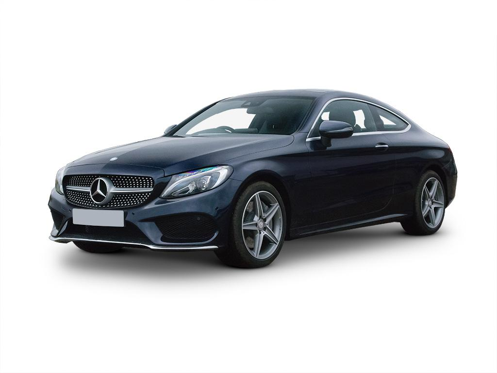 Mercedes benz c class diesel coupe c220d concept for Mercedes benz service contract cost