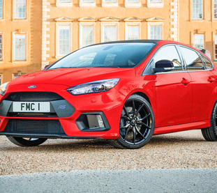 Square ford focus rs red edition 1