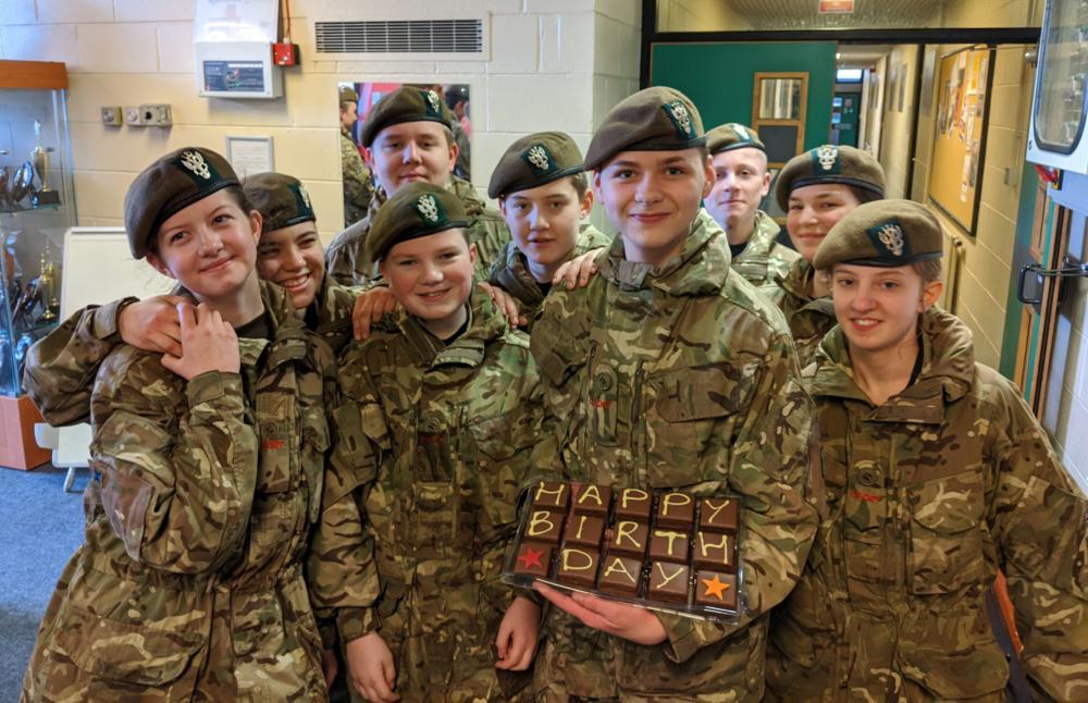 Celebrating Cadet Gill's Birthday