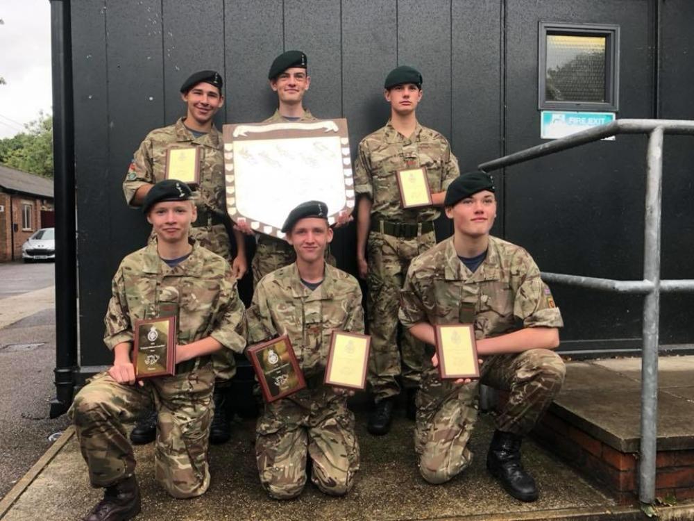 Double ACF Triumph at Tri-Service Falklands…   Army Cadet Force
